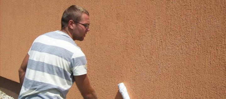 Dezinfekce fasád, nátěr proti plísním Brno