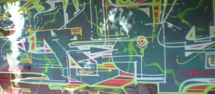 Odstranění graffiti pískováním, tryskáním Prha 8