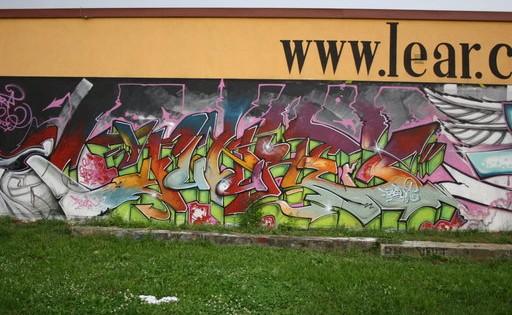 Stop graffity - odstranění Praha 8
