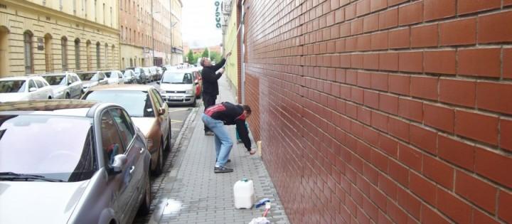 Nátěr proti grafiti Brno