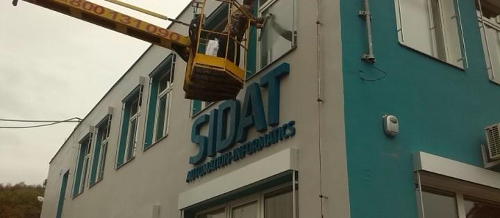 Mytí oken ve výškách horolezecky Praha