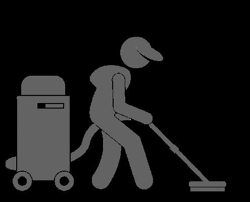 strojové čištění