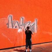 Odstranění graffity beze stínů v Praze
