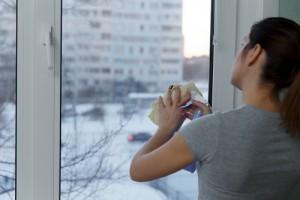 mytí oken v panelových domech